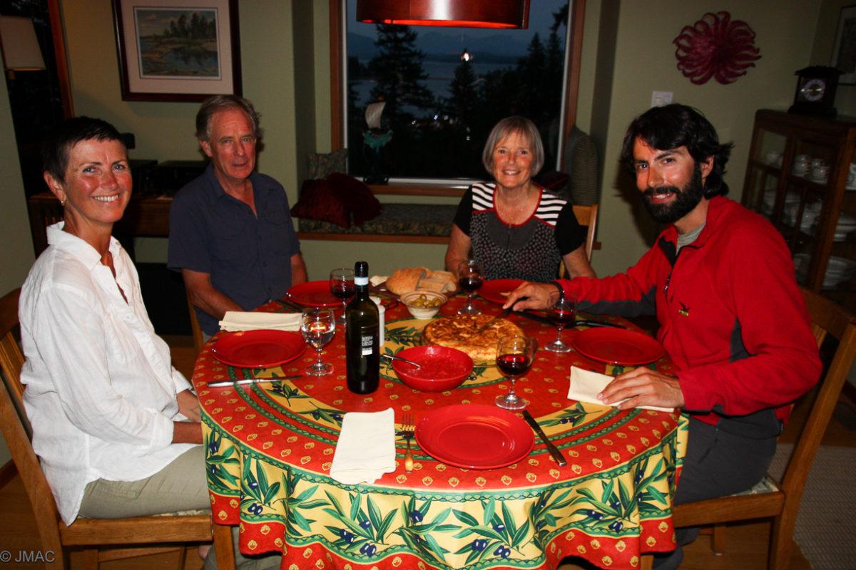 Tortilla mit Josephine, Rob, Diana