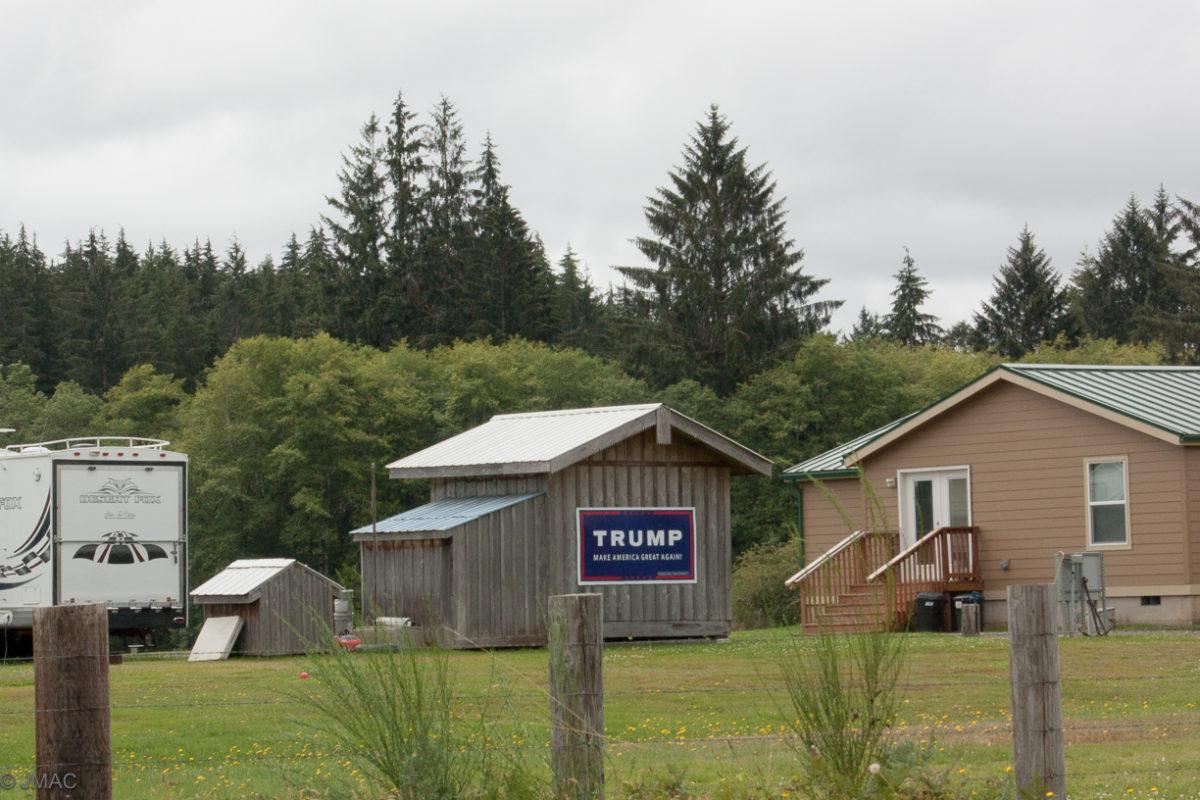 Trump Supporter in Washington State