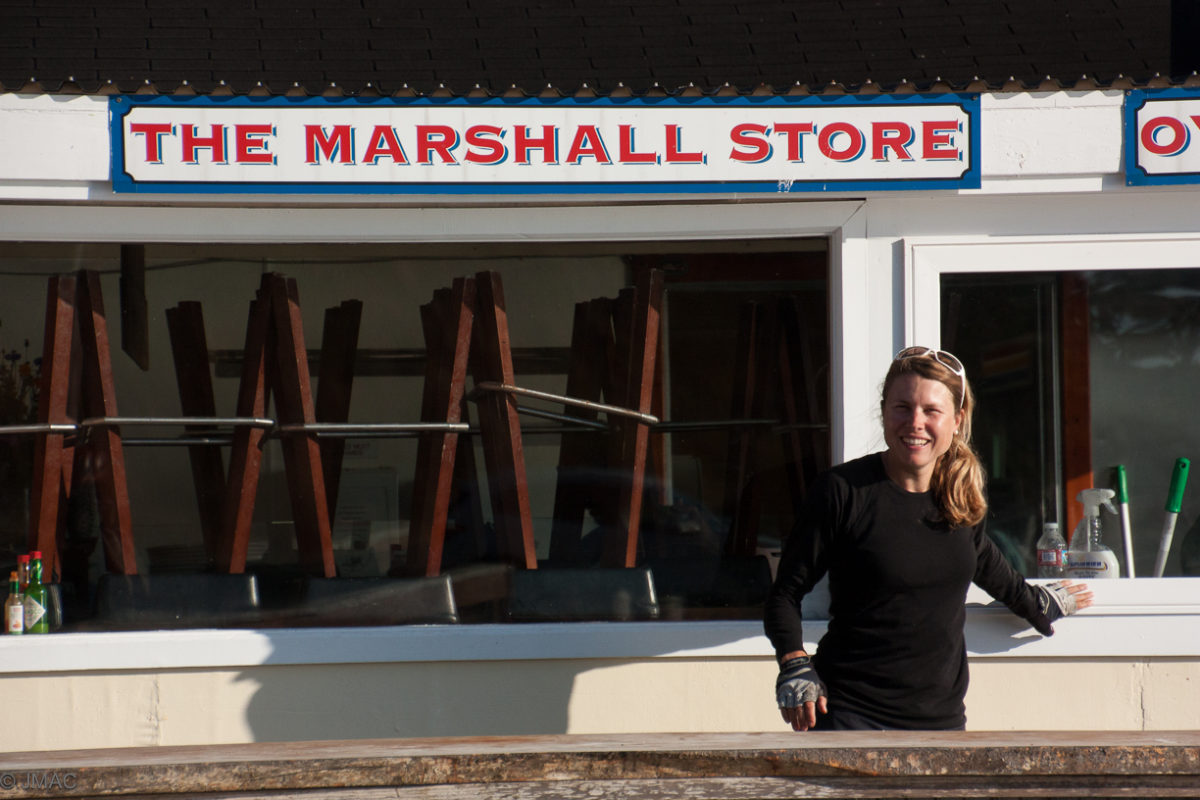 Austern essen in Marshall