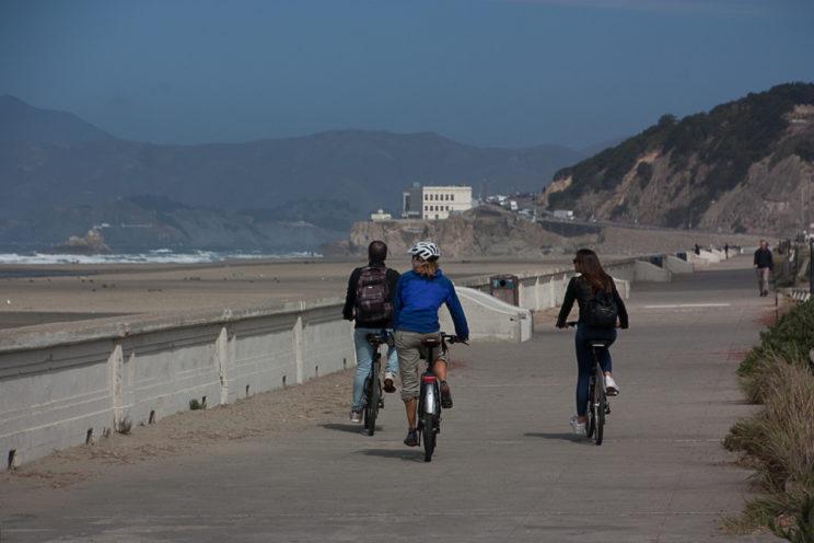 Mit den Velos San Francisco erkundigen