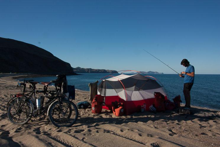 Und nochmals Camping am Strand