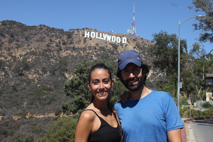 Bruder und Schwester in Hollywood
