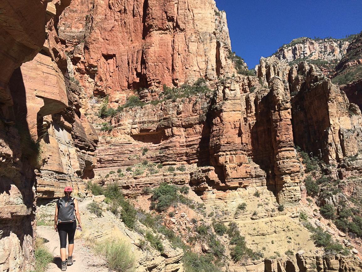 Im Gran Canyon