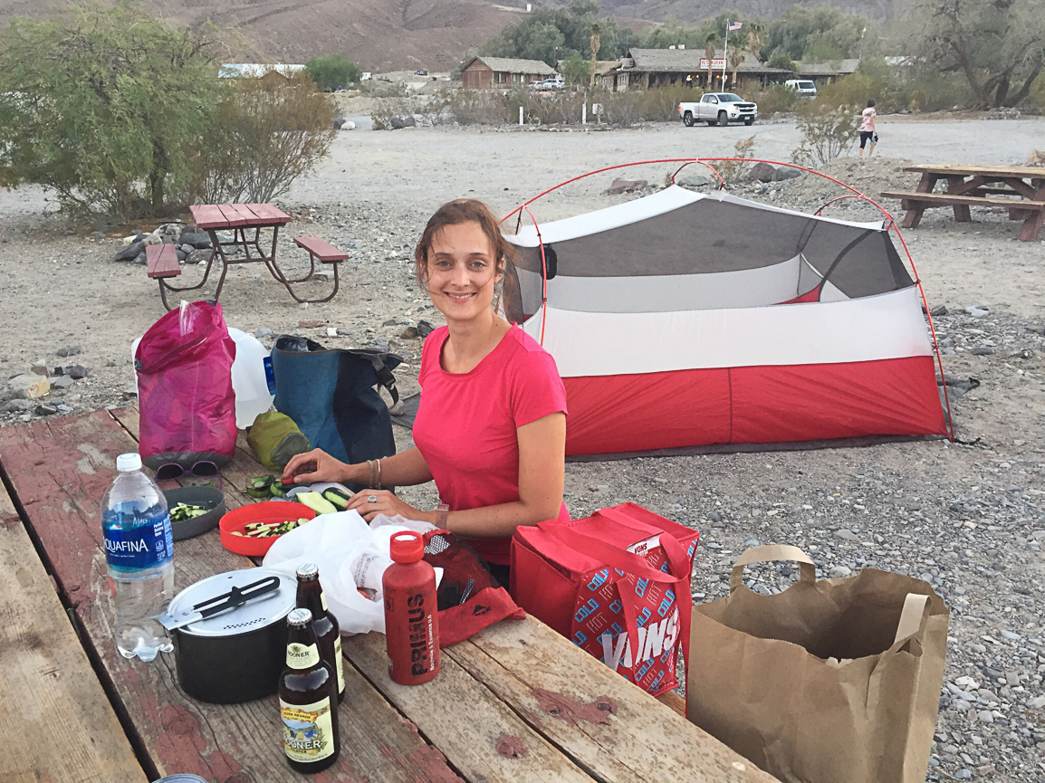 Camping im Death Valley
