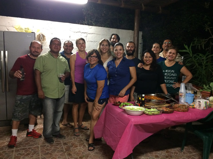 Mexikanisches Barbecue mit Tuly und ihren Freunden