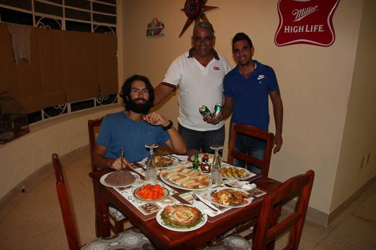 In einem Casa mit den Gastgebern